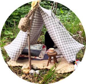 doll tent diy