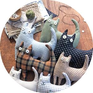 happy cat pattern
