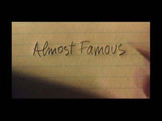 image: Almost famous movie title screen shot
