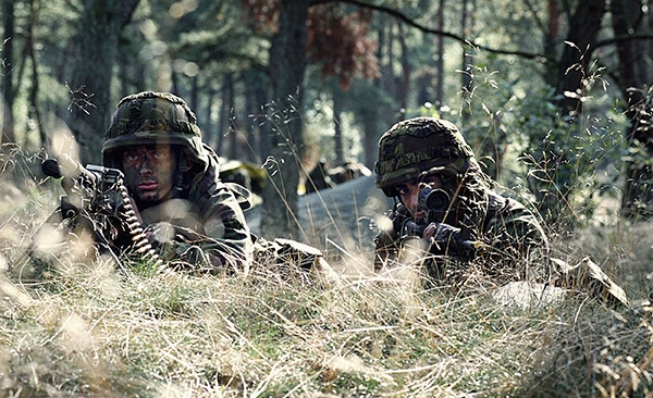 foto militairen