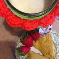 London Fog Healing Protein Tea & Oatmeal Pumpkin Scones