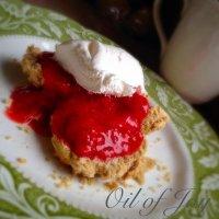 Strawberry Shortcake!! A delicious E!