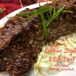 Korean Style BBQ Beef – THM S – Low Carb