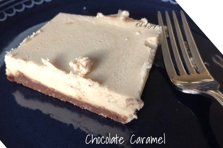 Chocolate caramel no moo cheesecake! Dairy free! THM S – Low carb!