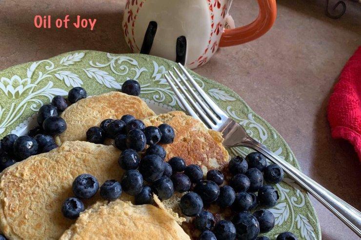 Garbanzo Pancakes! THM E * VEGAN!