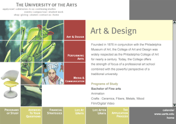UArts Students Website