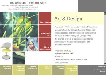 UArts Students Website