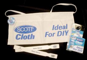 Scott Cloth Selling Kit