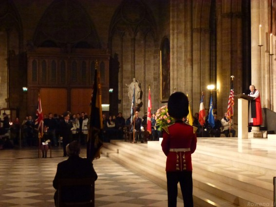 Remembrance Day Notre Dame Paris