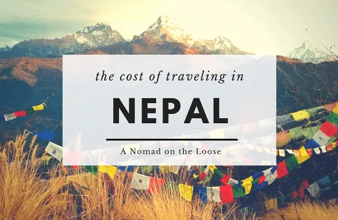 The Cost of Traveling in Nepal