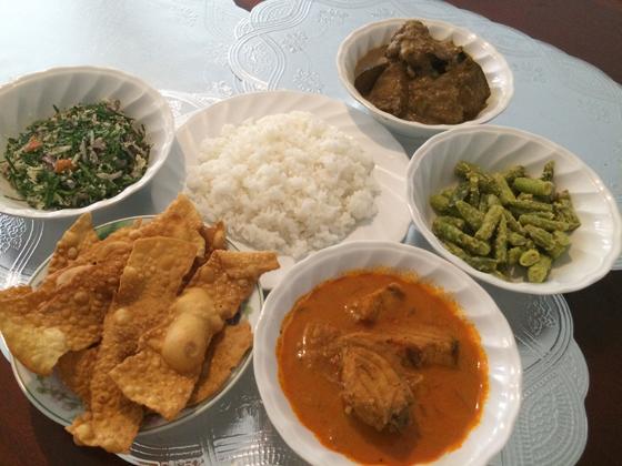 papadam meal 2