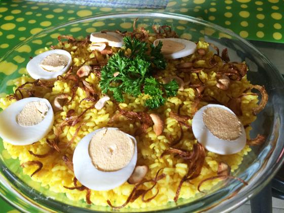 yellow rice dish 2