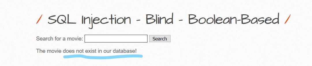 Blind boolean based SQli bwapp3