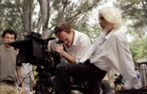 Tarantino e Richardon girano the hateful eight
