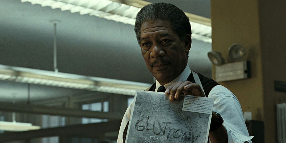 morgan freeman in seven