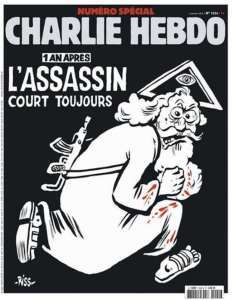 Copertina anniversario Charlie Hebdo