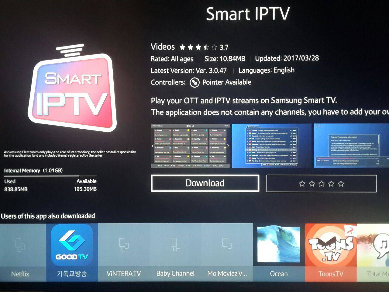 download smart IPTV