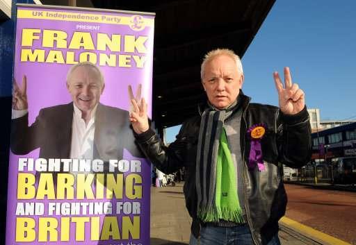 8288067 Frank Maloney V Nick Griffin: BNP V UKIP