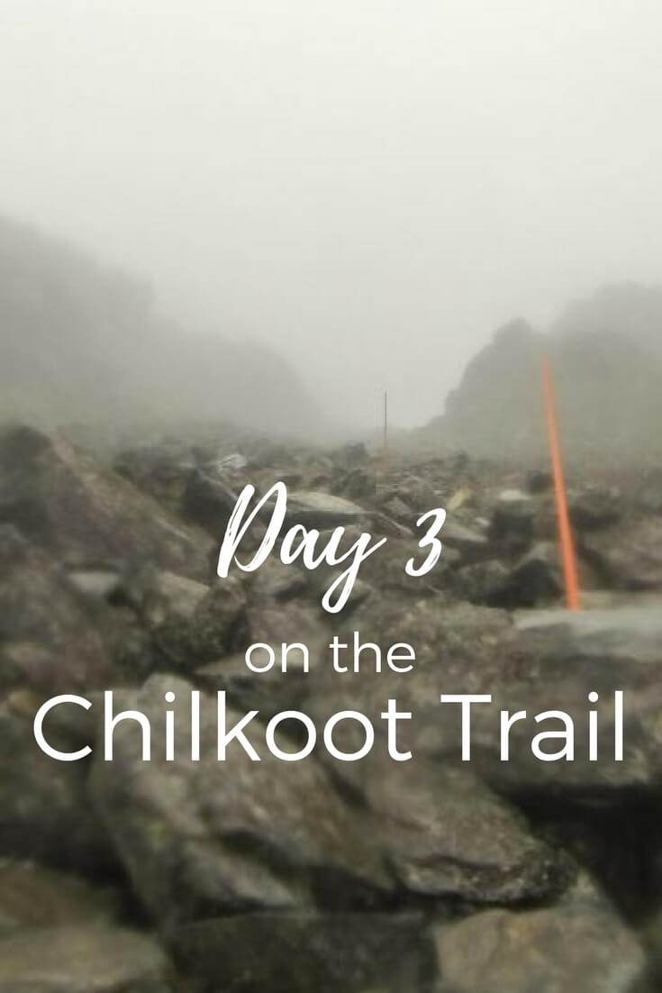 From Sheep Camp to Happy Camp. Follow along on the third day of our Chilkoot Trail hike.