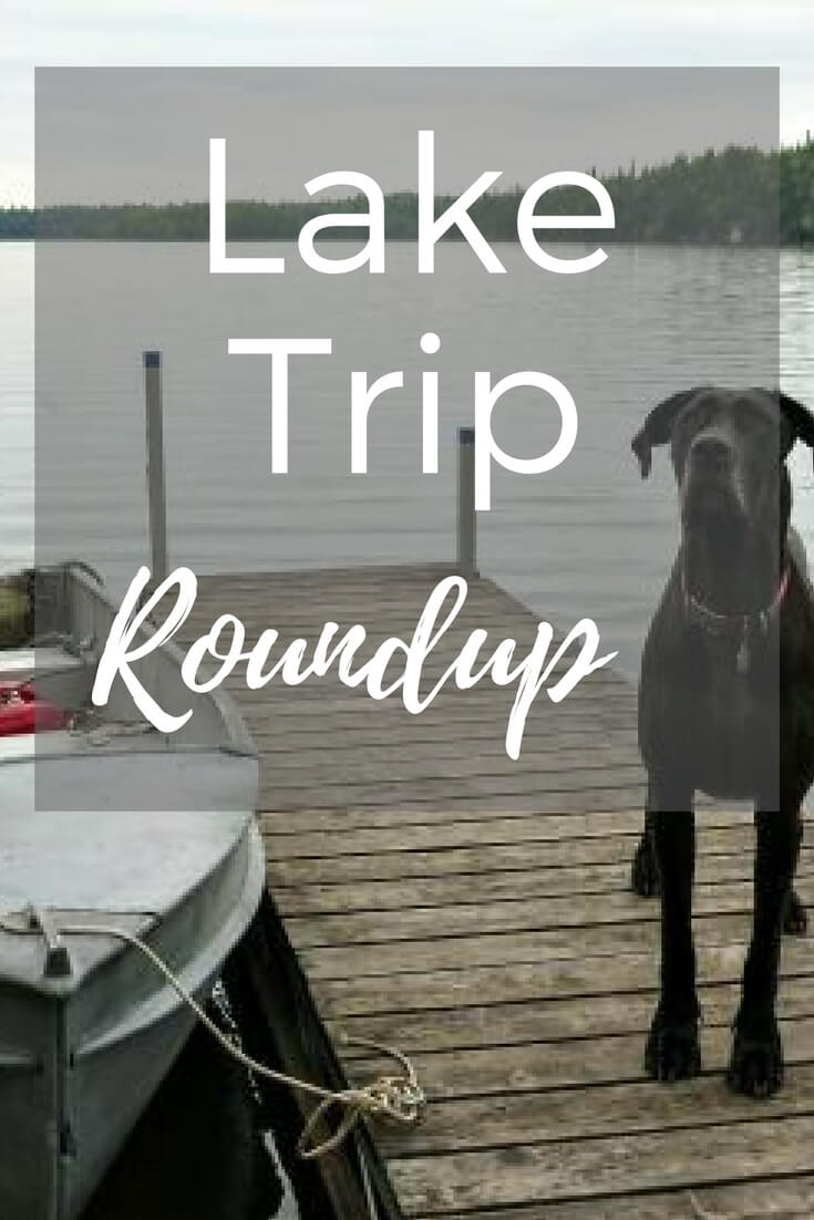 A few stats about our latest trip to the lake.