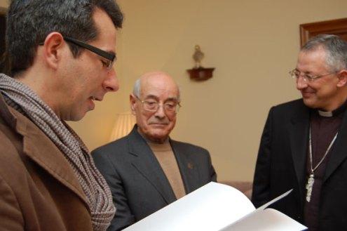 Oscar González Murado, novo director do Arquivo Diocesano