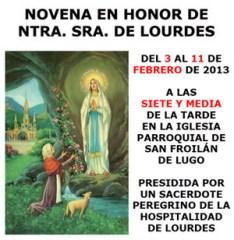 Novena Lourdes
