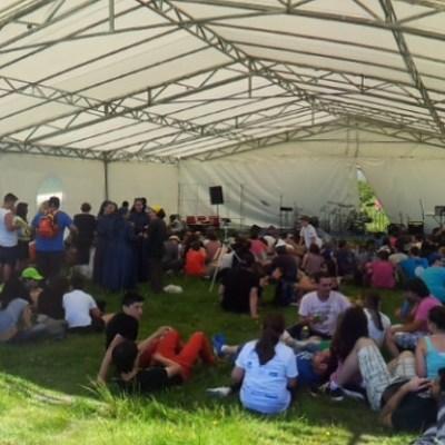 Xóvenes de distintos punto de Galicia no Santuario do Faro reflexionaron sobre o sentido da vida