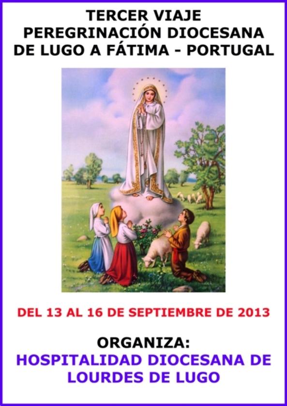 Viaxe a Fátima da Hospitalidade de Lourdes