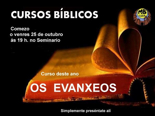 Cursos bíblicos 2013 - 2014 galego
