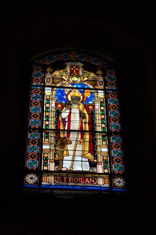 Vidriera de San Froilán en la Catedral
