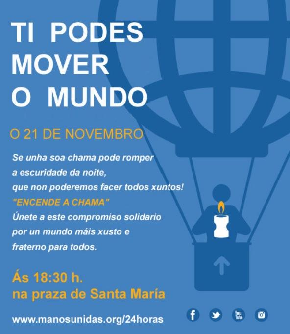 cartel 24h que moven o mundo