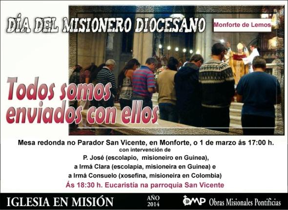Día misioneiro diocesano