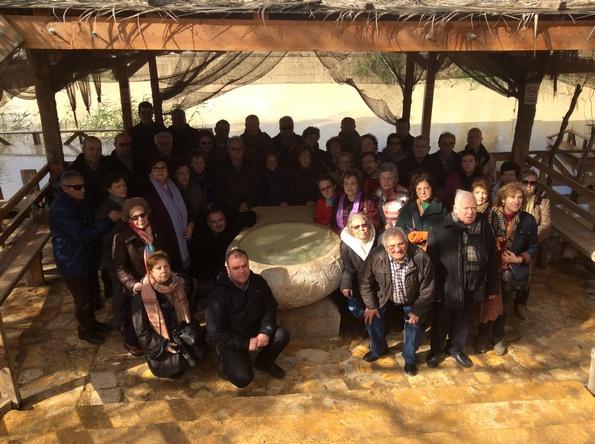 Foto de grupo trala renovación das promesas bautismais