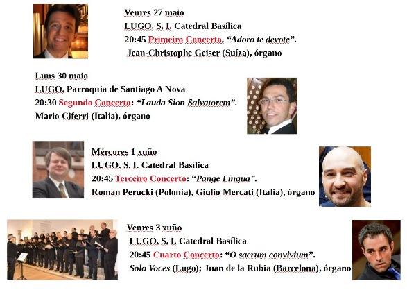 Festival  Internac Órgano programa