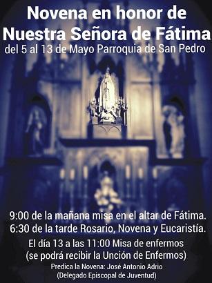 Novena Fátima San Pedro - copia