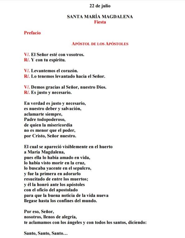 Prefacio María Magdalena