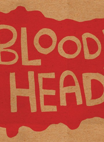 bloody head text