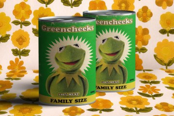 kermit meat tins