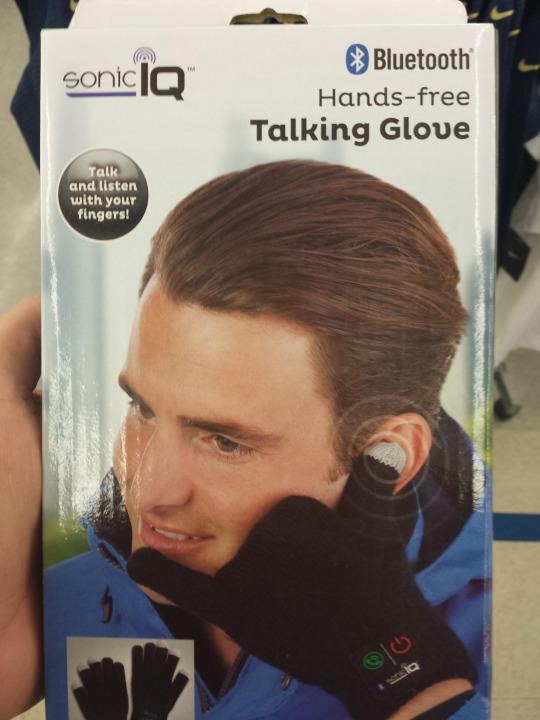 bluetooth hands-free glove