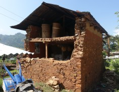 Home in Apchaur 18 months after the quake