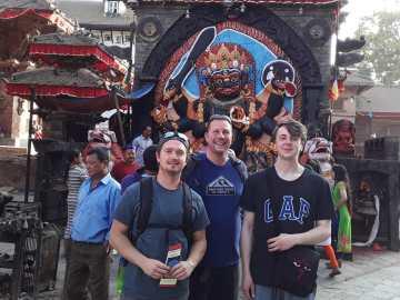 ABIN team in Kathmandu