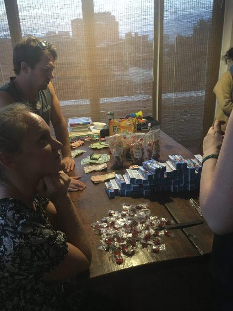 Moneybox production line