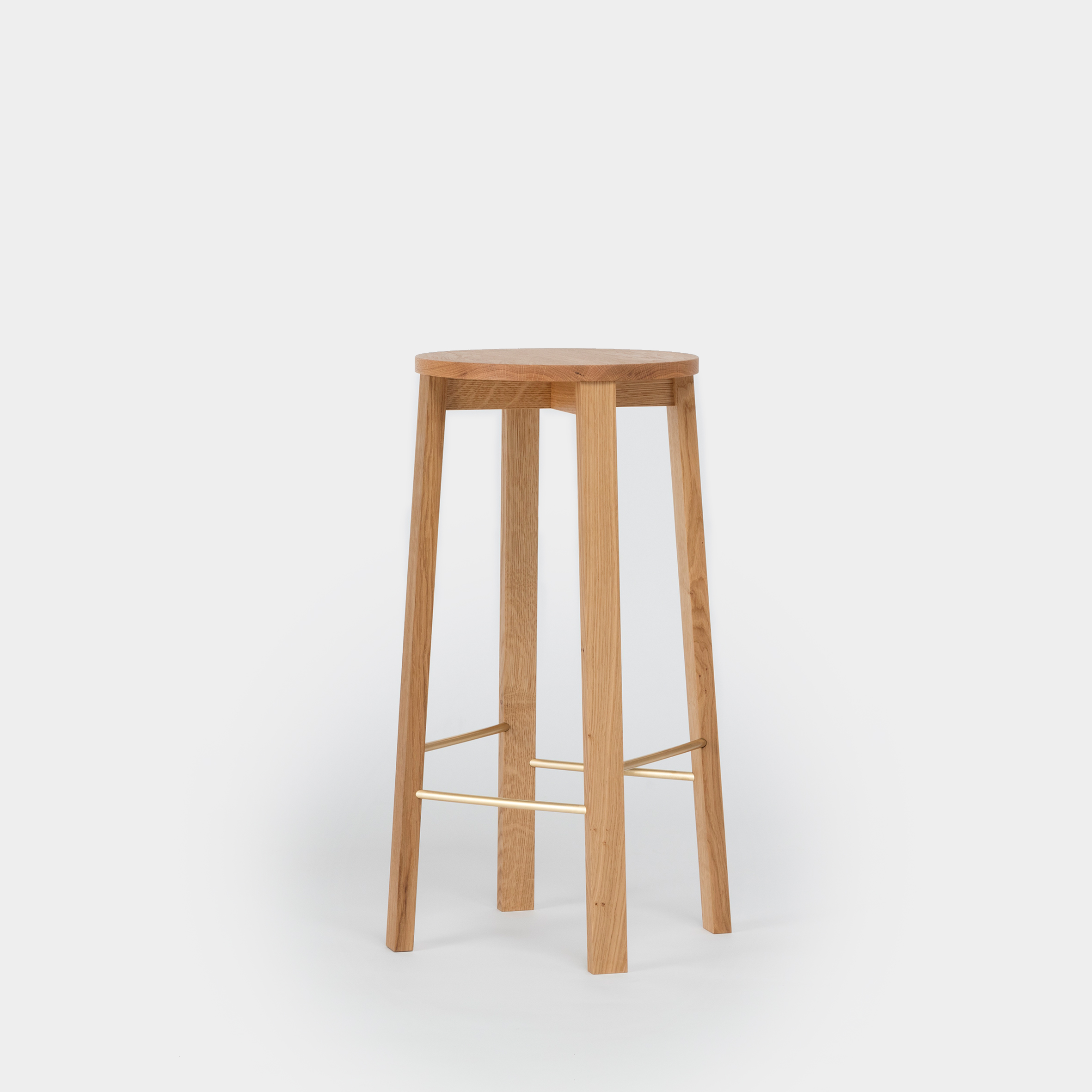 Modern Oak Bar Stool By Another Country