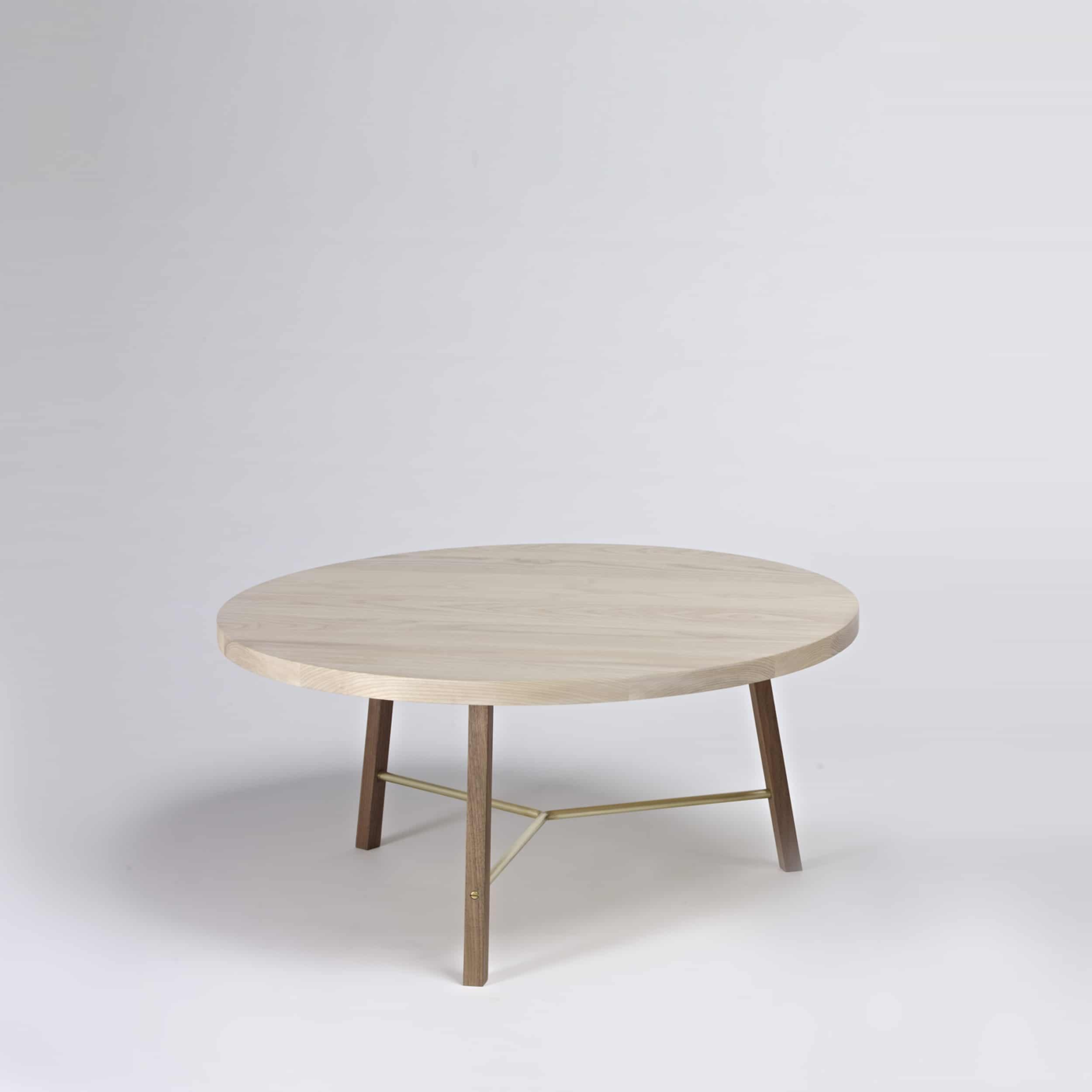 coffee table two ash walnut