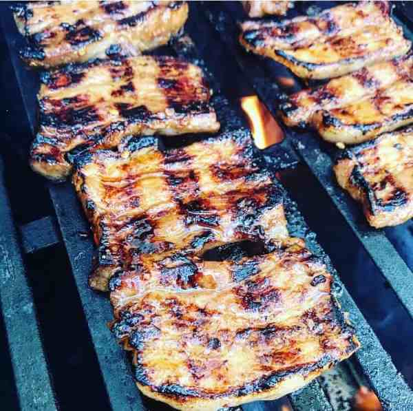 Asian bbq pork belly