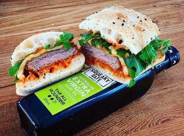 Veal Parm Sandwich