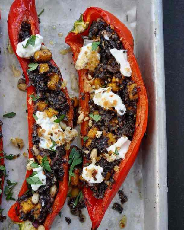 Stuffed Capsicums