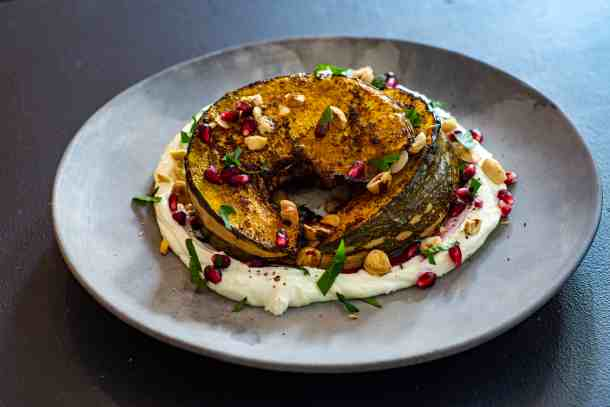 Sumac Roasted Pumpkin