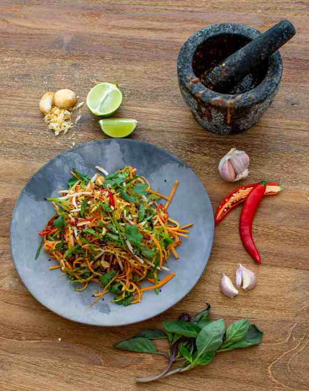Asian Papaya Salad