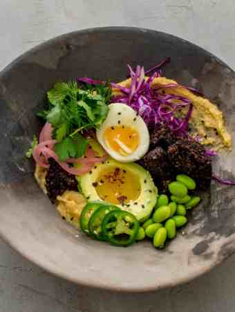 Black Pudding Nourishing Bowl